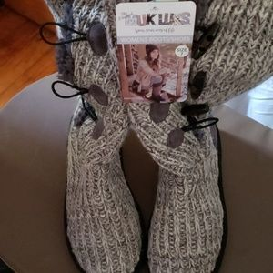 Muk Luks Sweater Boots- Brand New